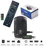 Anadol HD 777 mit PVR Aufnahmefunktion Timeshift - 1080p HDTV digitaler Mini Sat Receiver - energiesparender Full HD Minireceiver - Minisatreceiver mit vorinstallierten Astra Sendern - 12V Camping