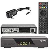 Comag HD 200 HD digitaler Satelliten Receiver SAT HD (HDTV DVB-S2 HDMI 1080p SCART USB Mediaplayer Full HD Astra vorinstalliert)