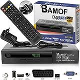 Bamof 2225 PRO Sat Receiver Digitaler Satelliten Receiver- (HDTV, DVB-S /DVB-S2, HDMI, SCART , 2X USB , Full HD 1080p ) [Vorprogrammiert für Astra, Hotbird und Türksat] + HDMI Kabel