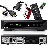 Opticum SBOX - PVR Aufnahmefunktion Timeshift - Multimedia - 1080P Digital HDTV Sat-Receiver für Satellitenfernseher - Astra Hotbird vorinstalliert - HDMI, SCART, USB, DVB-S/S2 + Anadol HDMI Kabel