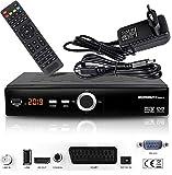 hd-line Echosat 20900 M Digital Satelliten Sat Receiver - (HDTV , DVB-S/S2 , HDMI , SCART, 2X USB 2.0, Full HD 1080p) [Vorprogrammiert für Astra Hotbird Türksat]