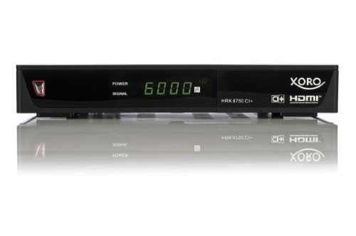 xoro hrk 8750 ci digitaler kabel receiver. Black Bedroom Furniture Sets. Home Design Ideas