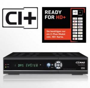 COMAG TWIN HD/CI+ digitaler Satelliten Receiver Twin-Tuner HDTV mit 500 GB Festplatte